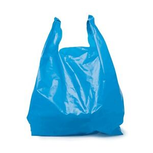 Safepro Jsb 18x10x32 inch Blue Jumbo Shopping Bags 250 cs