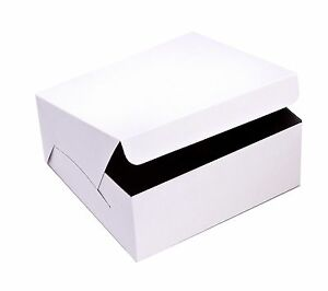Safepro 8x8x4 inch Cake Boxes 250 piece Case