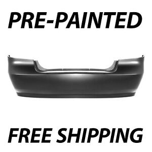 New Painted To Match Rear Bumper Cover For 2007 2011 Chevy Aveo Sedan 07 11