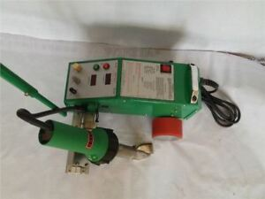 Pvc Pe Flex Banner Intelligent Seam Welder With 1600w Leister Heat Gun 220v Wl