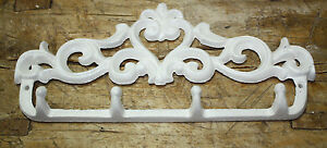 Cast Iron Victorian Style Heart Towel Coat Hooks Hat Hook Key Rack Rustic
