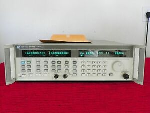 Agilent Hp 83752b 01 20 Ghz Synthesized Sweeper 1e5 W Cal Data Warranty