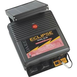 2 dare Eclipse 12v Solar Powered 12 1 2 X 6 X 15 Electric Fence Charger Ds40