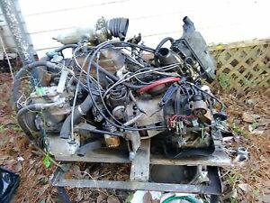 Complete Vw Rabbit Jetta Mk1 Engine And Automatic Transmission 1975 1984