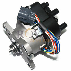 Ignition Distributor For 1996 2001 Honda Civic Acura B16a3 Dohc Vtec Fits Td81u