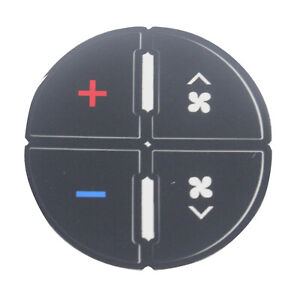 Popular 1pcs Ac Button Repair Kit Decal Stickers Dash Replacement For 07 14 Gm