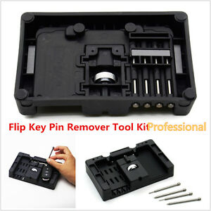 Professional Folding Remotes Remove Installation Tool Key Fixing Pin Remover Kit