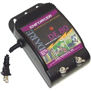 Dare 110v Enforcer 3 X 7 1 2 X 5 1 2 Electric Fencer Fence Charger De80