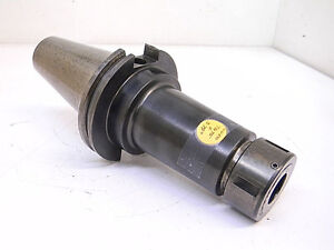 Used Kennametal Cat50 Tg75 Gage Length 5 79 Collet Chuck Cv50tg075579g