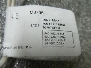 v46 2 Madison M8705 Liquid Level Switch