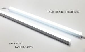 20 40pack T5 2ft Led Integrated Tube Fluorescent Tube Light Lamp