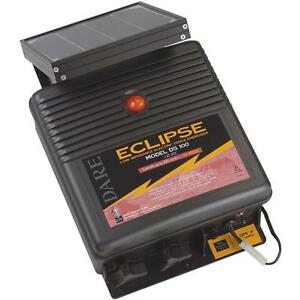 Dare 110v Eclipse 17 5 X 17 5 X 6 Solar Electric Fencer Fence Charger Ds100
