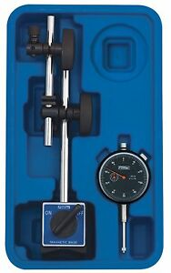 Fowler Fow 72 520 199 Magnetic Base Black Face Indicator With Fine Adjust