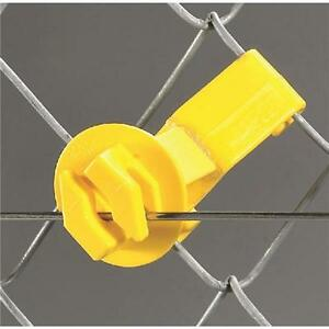 10 Pk Dare Snug Chain Link U post Electric Fence Insulator 25 pk Snug su 25