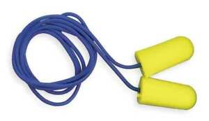 Taperfit Corded Ear Plugs 32db Rated Tapered Shape Pk 200 3m 312 1223