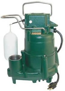 Mighty mate 1 2 Hp 1 1 2 Submersible Sump Pump 230v Vertical Zoeller D98