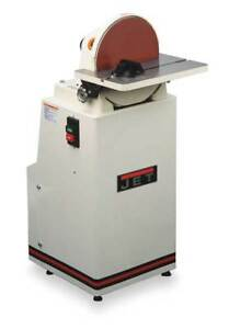 JET J-4400A Disc Sander 12 In 1-12 HP 1960 RPM