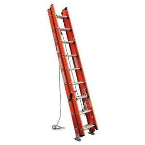 Extension Ladder Fiberglass 24 Ft Ia Werner D6224 3
