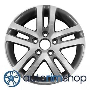 Volkswagen Jetta 16 Factory Oem Wheel Rim Machined With Charcoal
