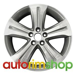 Toyota Highlander 19 Factory Oem Wheel Rim Machined With Charcoal