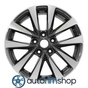 Nissan Altima 2016 2017 17 Factory Oem Wheel Rim Charcoal Machined 403009hp1a