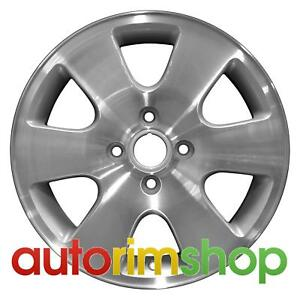 Ford Focus 2000 2001 2002 2003 16 Factory Oem Wheel Rim Machined With Silver