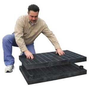 Work Platform Base Unit Stackable Plastic Add a level A3624bg