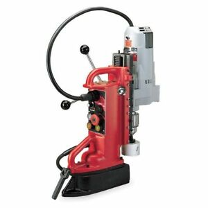 Magnetic Drill Press 350rpm 3 4 In Steel Milwaukee 4206 1