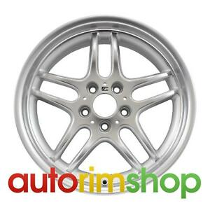 Bmw 740i 18 Oem Bmw Style 37 Front Wheel Rim Machined With Silver