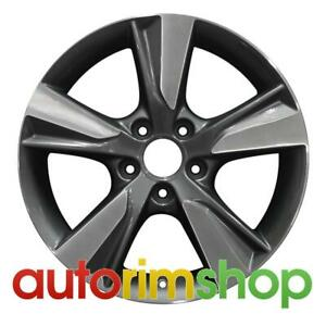 Acura Ilx 2013 2014 17 Factory Oem Wheel Rim Machined With Charcoal