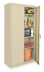 Storage Cabinet sand 72 In H 36 In W