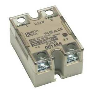 Solid State Relay 100 To 264vac 75a Omron G3na475butu2ac100240