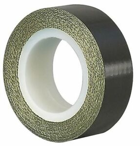 Cloth Tape 4 In X 5 Yd 5 Mil black Tapecase 15c809