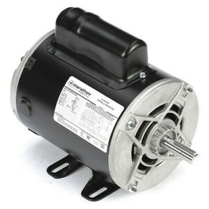 Air Compressor Motor 1 Hp 13 6 6 7 6 8a Marathon Motors 5kc49pn0161u