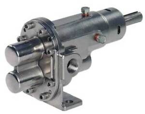 Rotary Gear Pump Head 3 8 In 1 2 Hp Dayton 4khp1