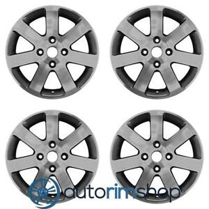 Nissan Sentra 2006 2012 16 Factory Oem Wheels Rims Set Machined With Charcoal