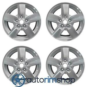 Jeep Commander 2006 2008 17 Factory Oem Wheels Rims Set Machined With Silver