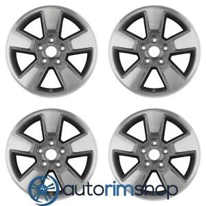 Jeep Liberty 2008 2012 16 Factory Oem Wheels Rims Set Machined With Charcoal
