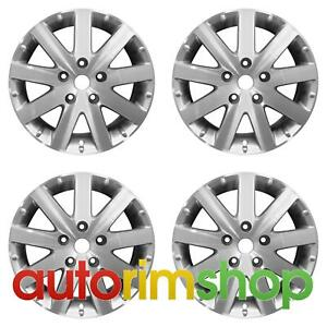 Chrysler Town Country 17 Factory Oem Wheels Rims Set Machined With Silver