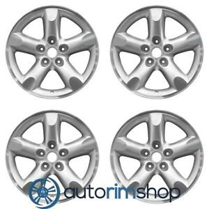 Dodge Ram 1500 2006 2008 20 Factory Oem Wheels Rims Set Machined With Silver