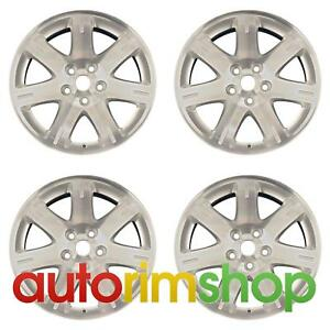 Chrysler 300 2005 2008 17 Factory Oem Wheels Rims Set 1cg57trmaa