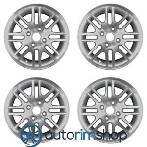 Ford Focus 2000 2011 15 Factory Oem Wheels Rims Set Machined With Silver