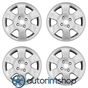 Ford Focus 2000 2003 16 Factory Oem Wheels Rims Set Silver