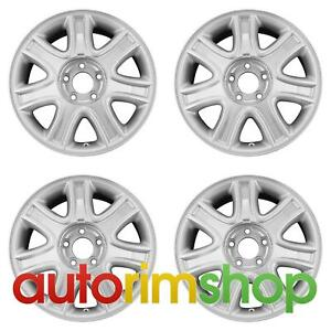 Lincoln Aviator 17 Factory Oem Wheels Rims Set Without Tpms Slot 2c5z1007ba