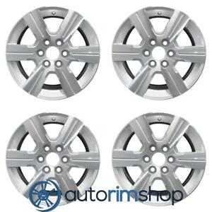 Chevrolet Traverse 2009 2013 18 Factory Oem Wheels Rims Set