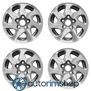 Toyota Camry 1997 2001 15 Factory Oem Wheels Rims Set Mag Style Lugs