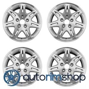 Acura Tl 1999 2001 16 Factory Oem Wheels Rims Set Machined With Silver