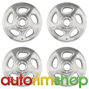 New 16 Replacement Wheels Rims Ford Explorer Ranger Sport Trac 1998 2005 Set