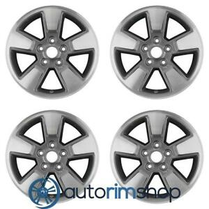 New 16 Replacement Wheels Rims For Jeep Liberty Set Machined With Charcoal