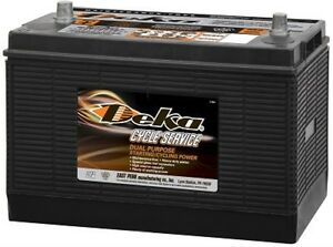 Deka Genuine New 7t31p 12 volt Battery 900amp Cranking Power group 31p